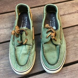 Sperry | EUC Green Top-Siders